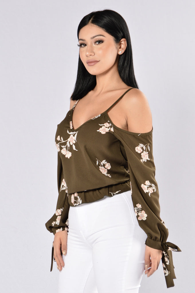 Yessi Top - Olive