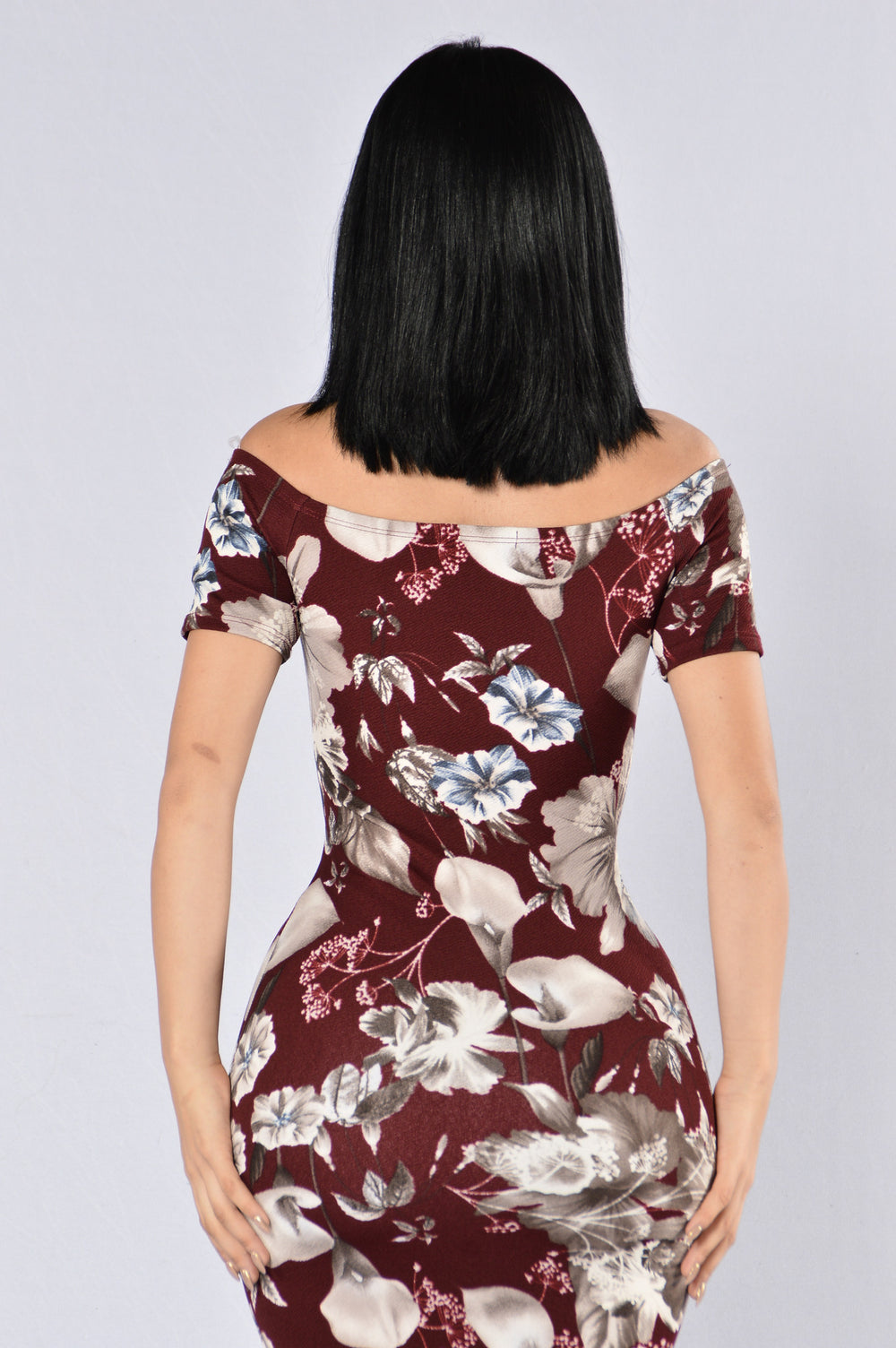 Not Your Typical Flower Girl Dress - Burgundy