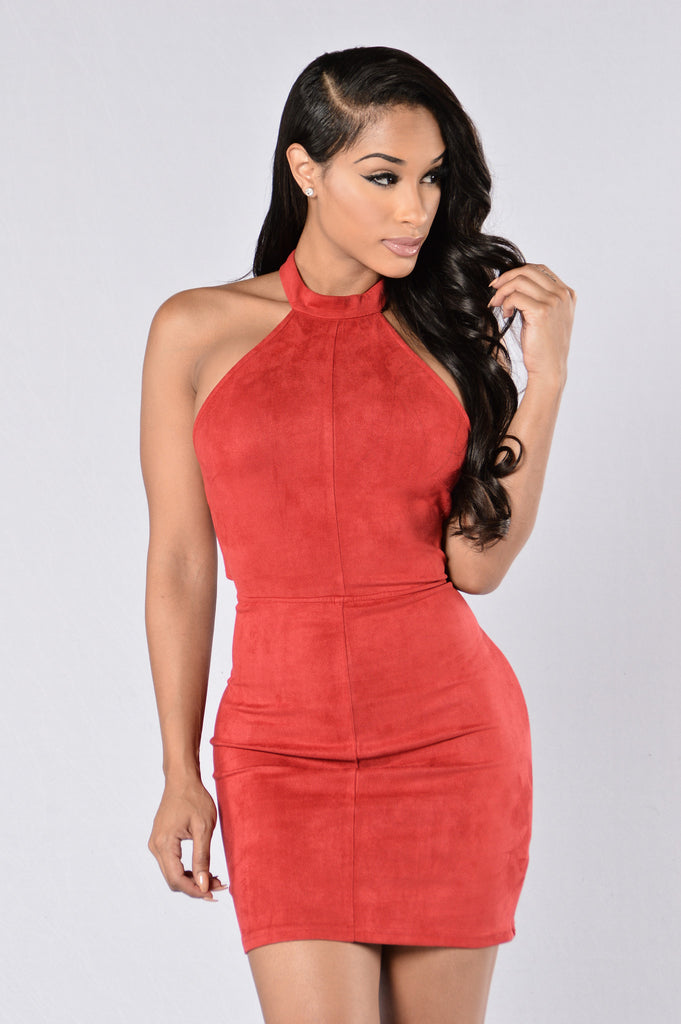 Hold It Against Me Dress - Red