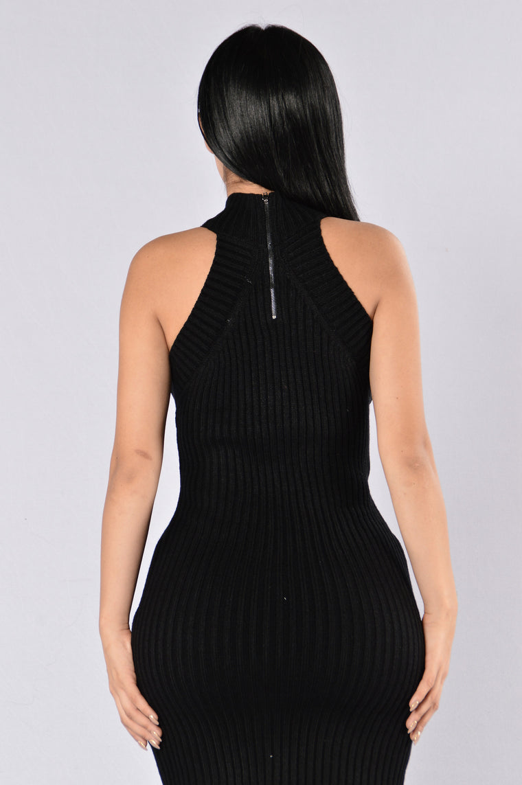 Kiss It Better Dress - Black
