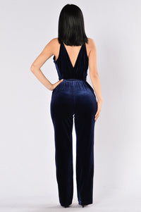 Sensuous Jumpsuit - Navy