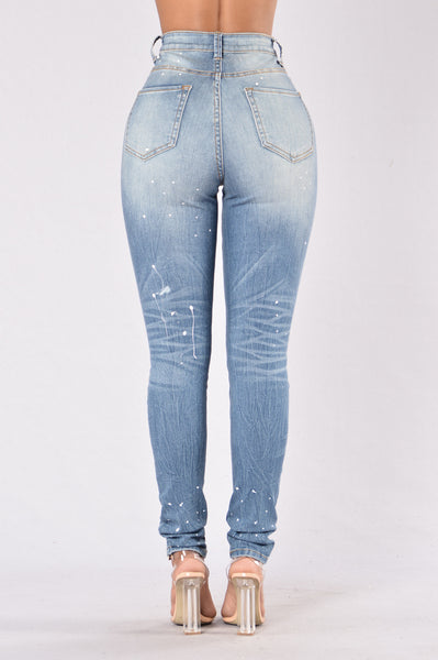 Stay True Jeans - Medium Blue