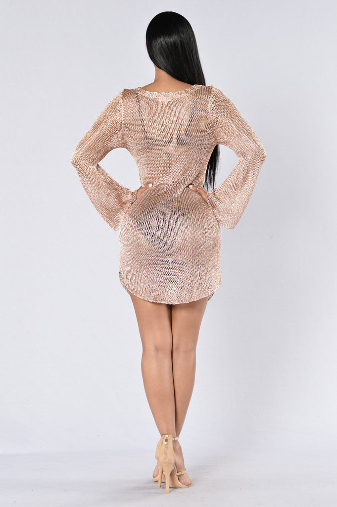 Buon Fresca Tunic - Rose Gold