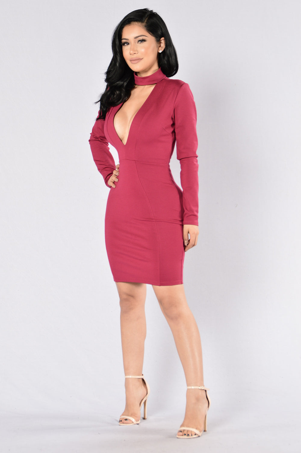 Good Intentions Dress - Wine