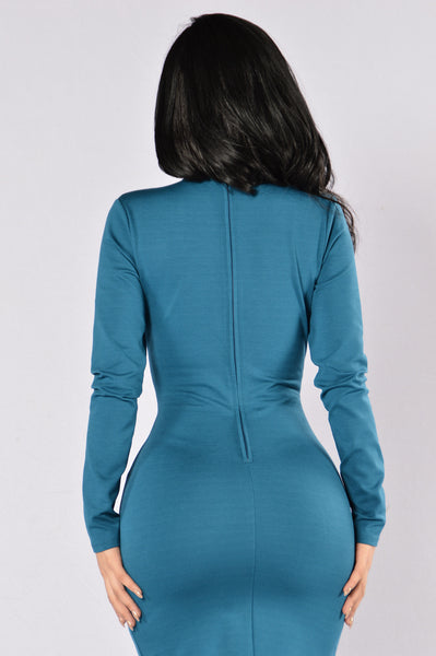 Good Intentions Dress - Teal