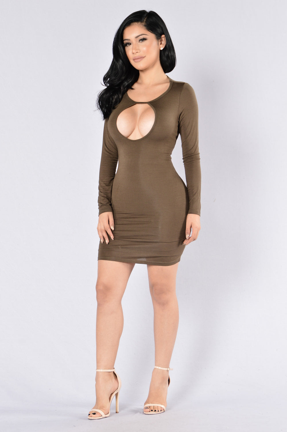 Isobel Dress - Olive