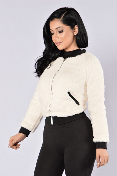 Warm Feelings Jacket - Ivory