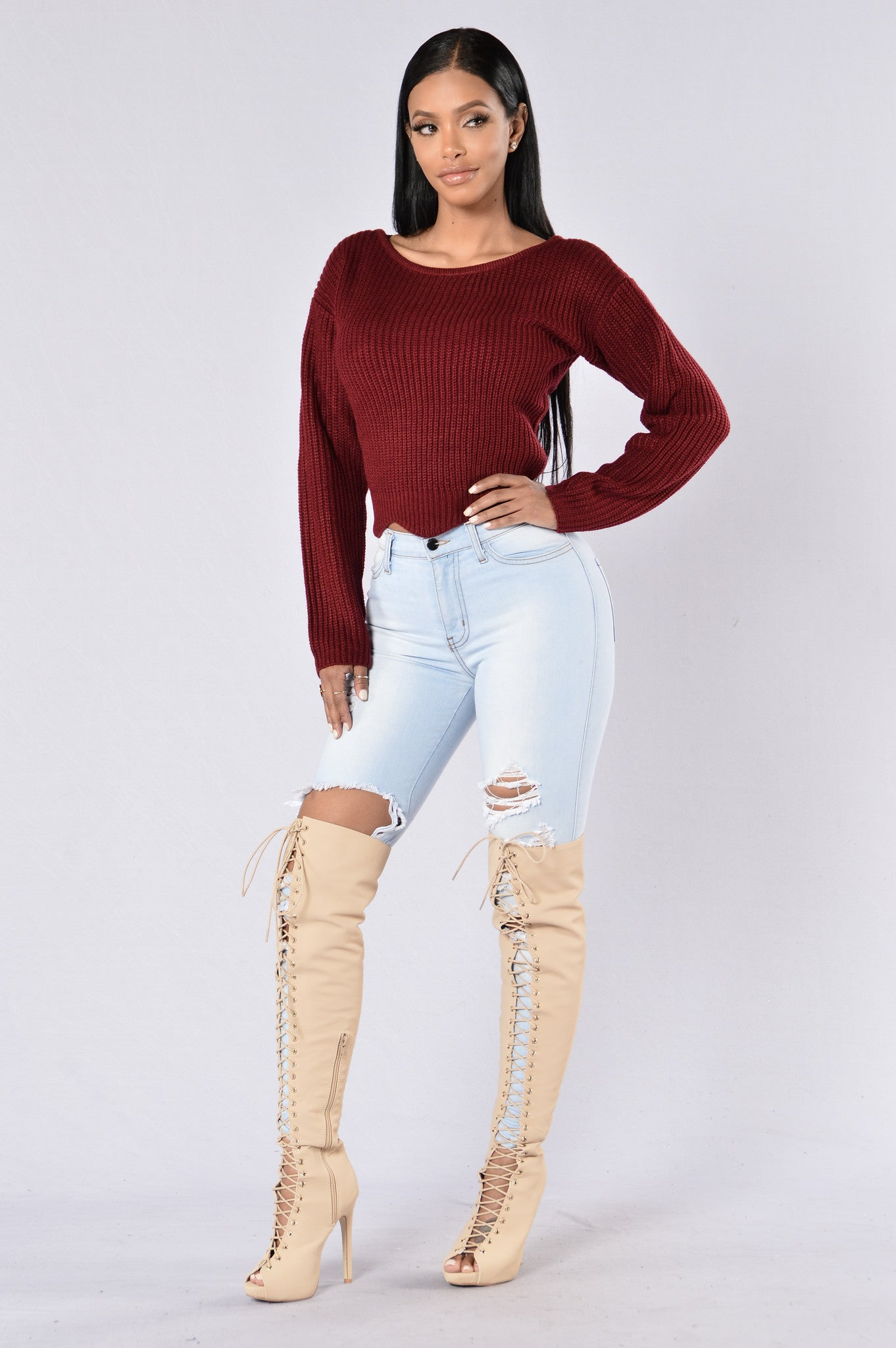 Black Voodoo Sweater Fashion Nova