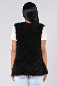 Fall For Me Vest - Black Angle 2