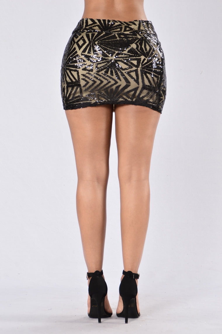 Meant To Be Skirt - Black