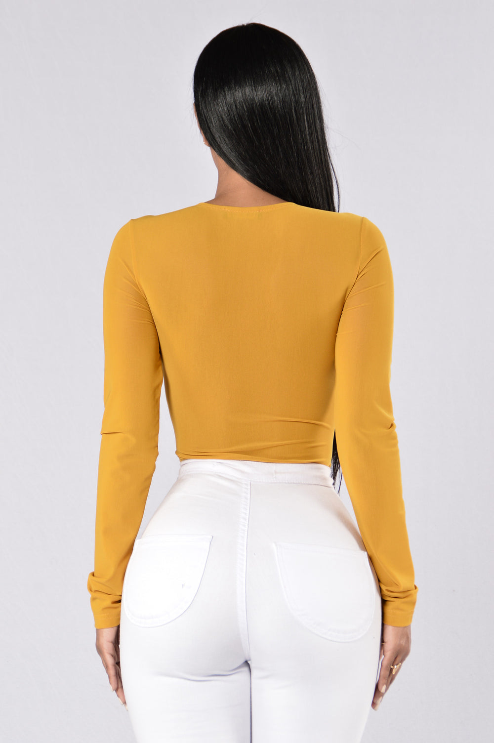 Oh, Pretty Women Bodysuit - Mustard