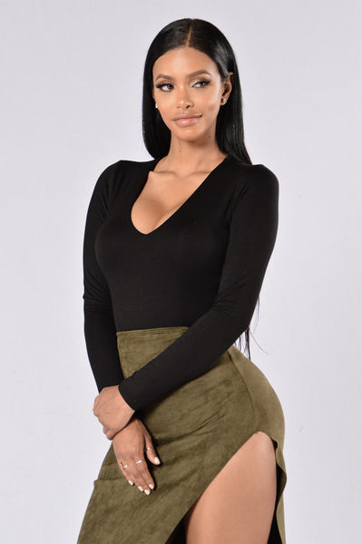 Amy Bodysuit - Black