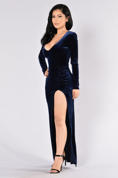 Love Sex Magic Dress - Navy