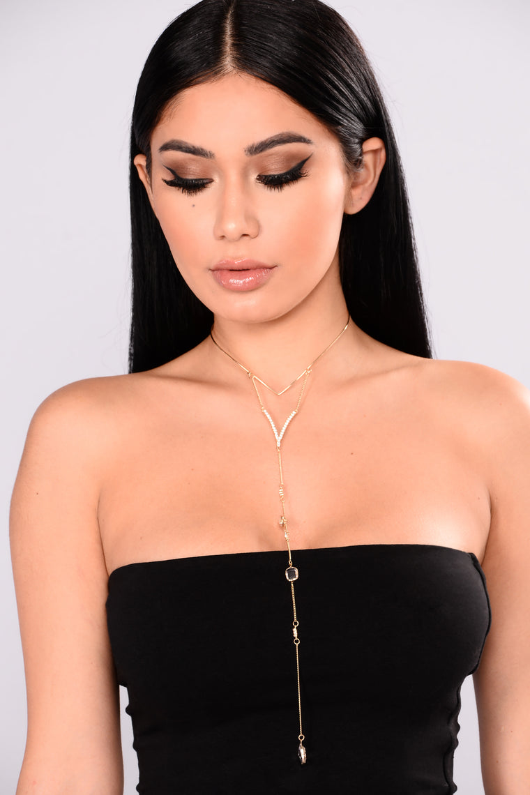Neda Layered Necklace - Gold