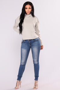 High Standards Sweater - Heather Grey