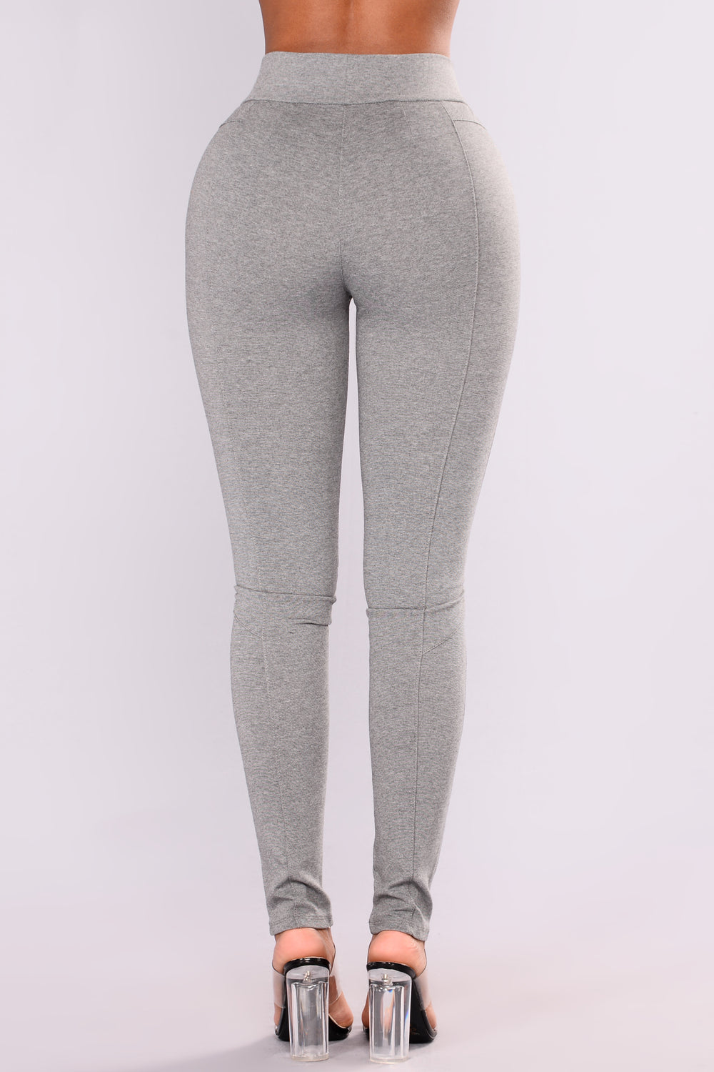 Barbara Ponte Leggings - Heather Grey