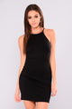 Josephine Mini Dress - Black
