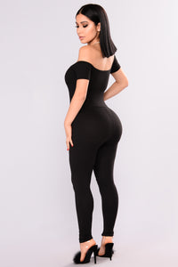 Love Your FN Body Jumpsuit - Black