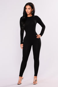 Make It Right Jumpsuit - Black
