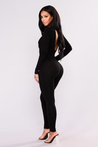 Make It Right Jumpsuit - Black Angle 3