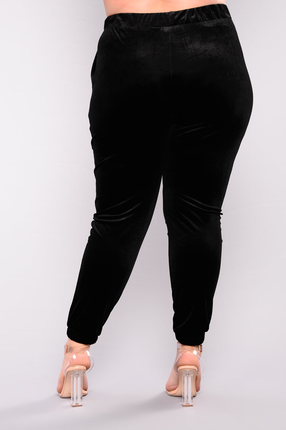 Settle Down Jogger Pants - Black
