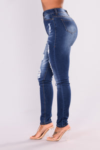 Be Loyal Skinny - Dark Denim