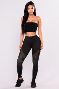 Willow Active Legging - Black/Charcoal