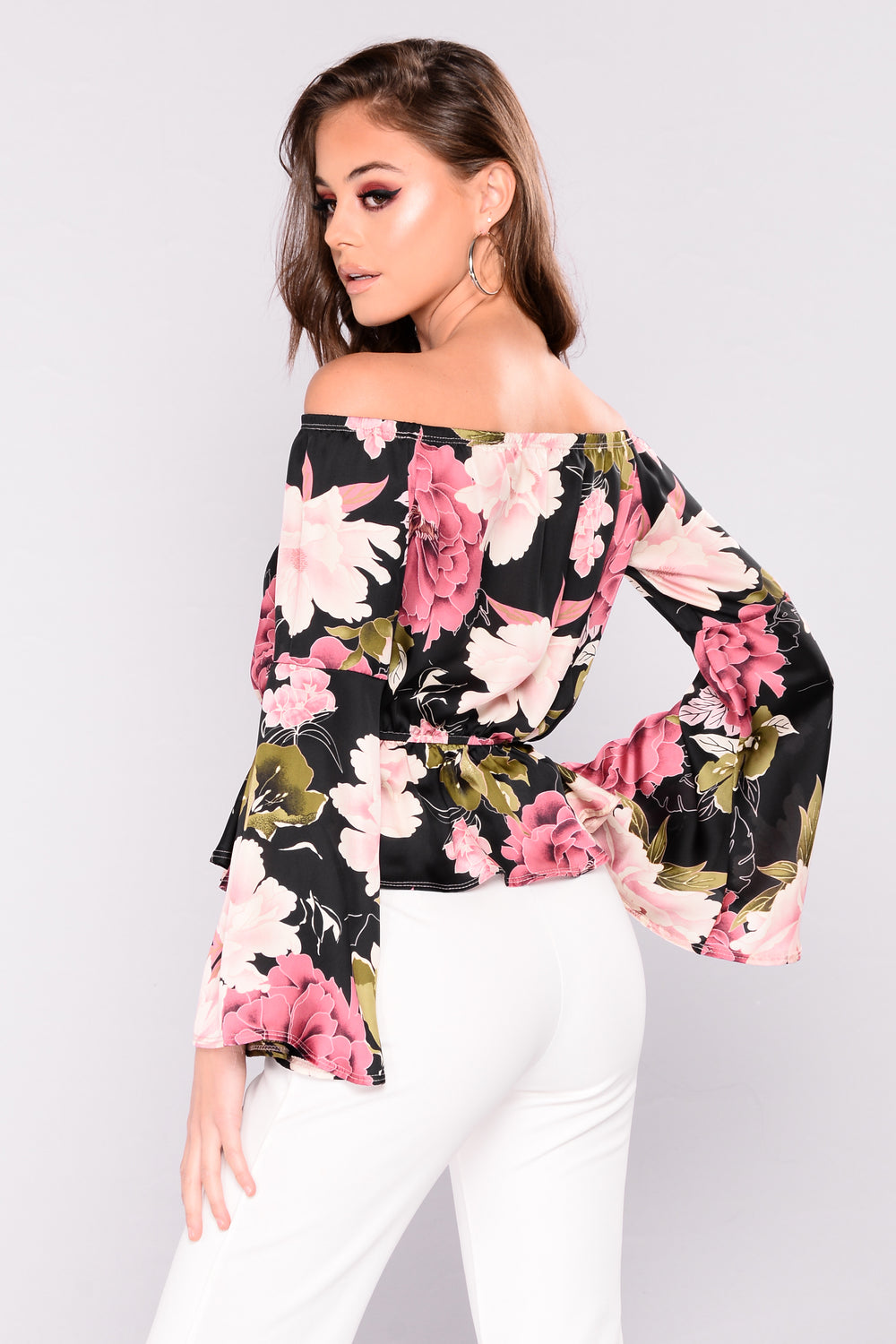 Blooming Bloom Top - Black