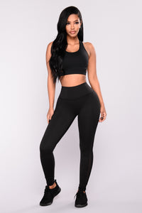 Alyssa Active Leggings - Black