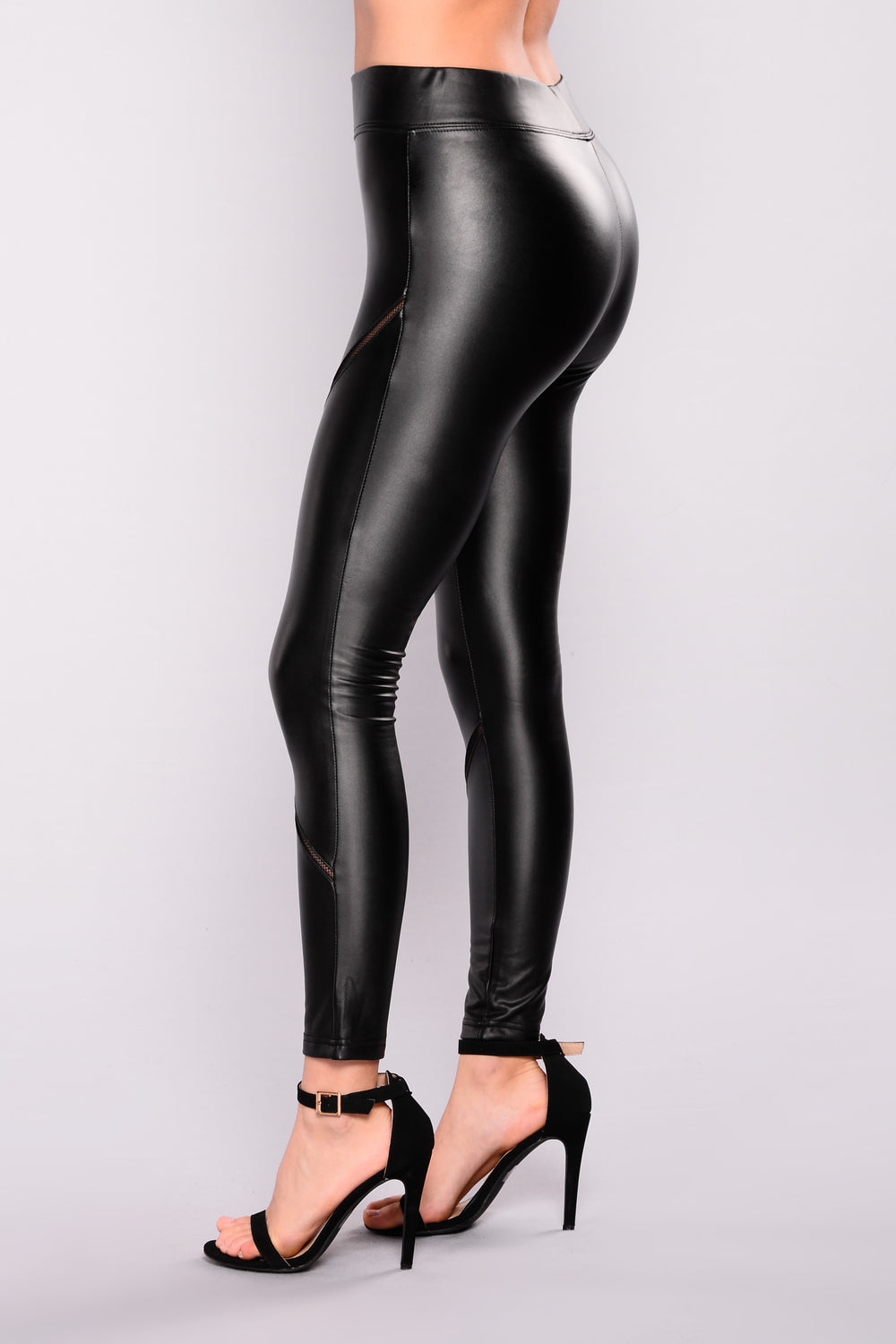 Dennis Basso Sz XXS Mixed Media Ponte Knit & Faux Leather Leggings Black Womens. Sold by Phoenix Trading Company. $ $ New-Fashion Sexy Black Wet Look Faux Leather Leggings Treggings Pants Shiny Tights. Sold by NewFashion. $ Lysse Leggings Alina Faux Leather .