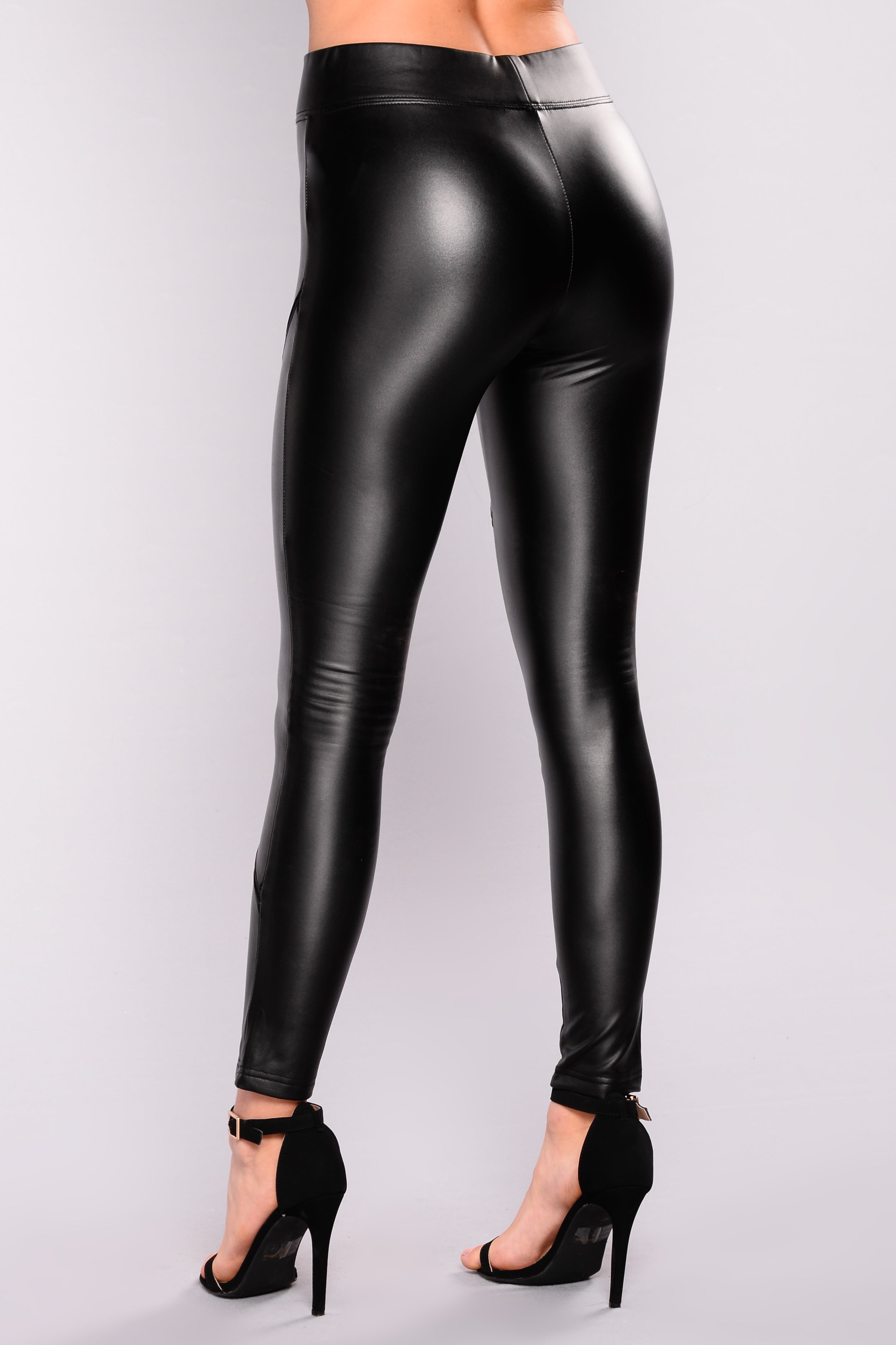 talia faux leather leggings black. Black Bedroom Furniture Sets. Home Design Ideas