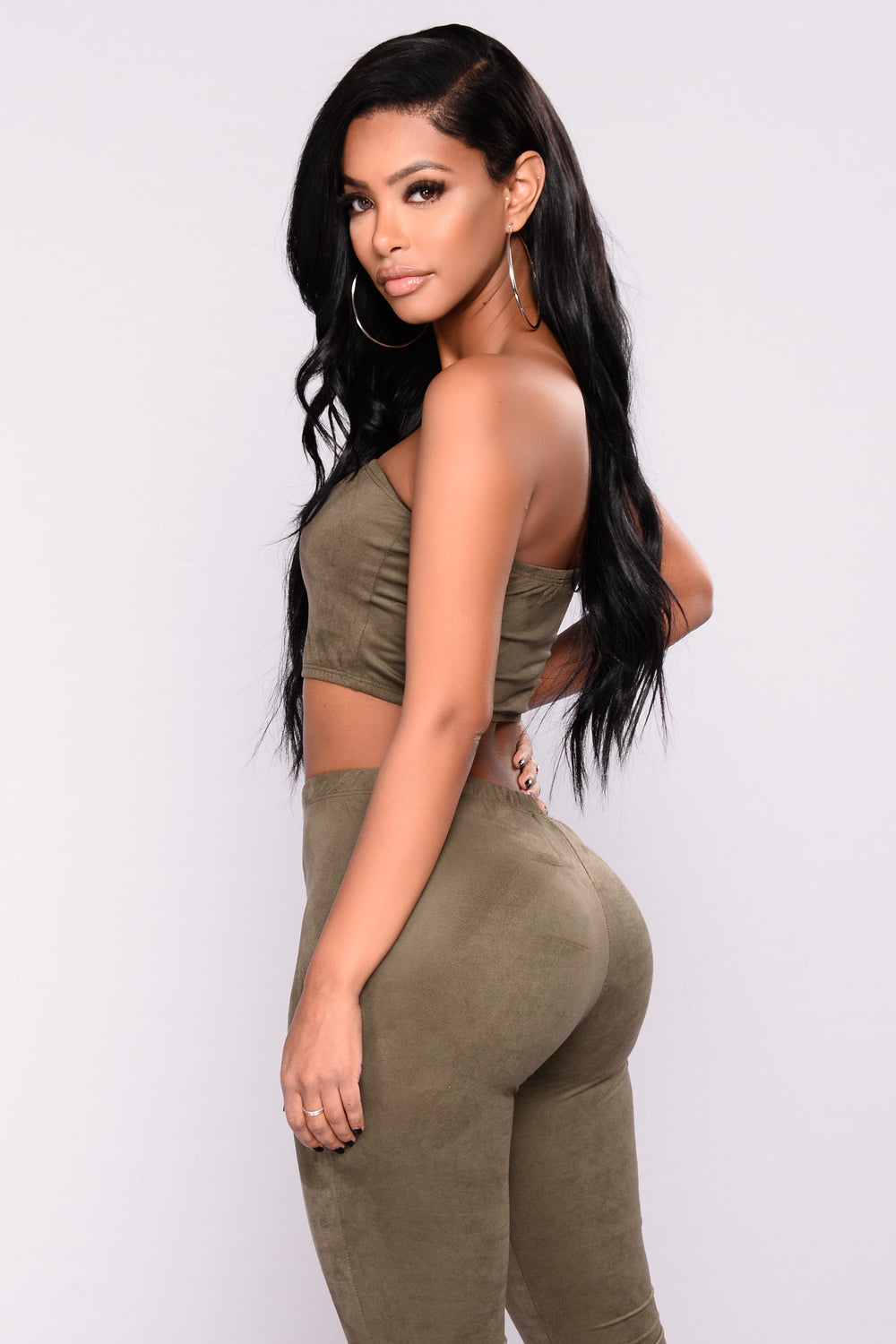 Dress Code Violation Set - Olive