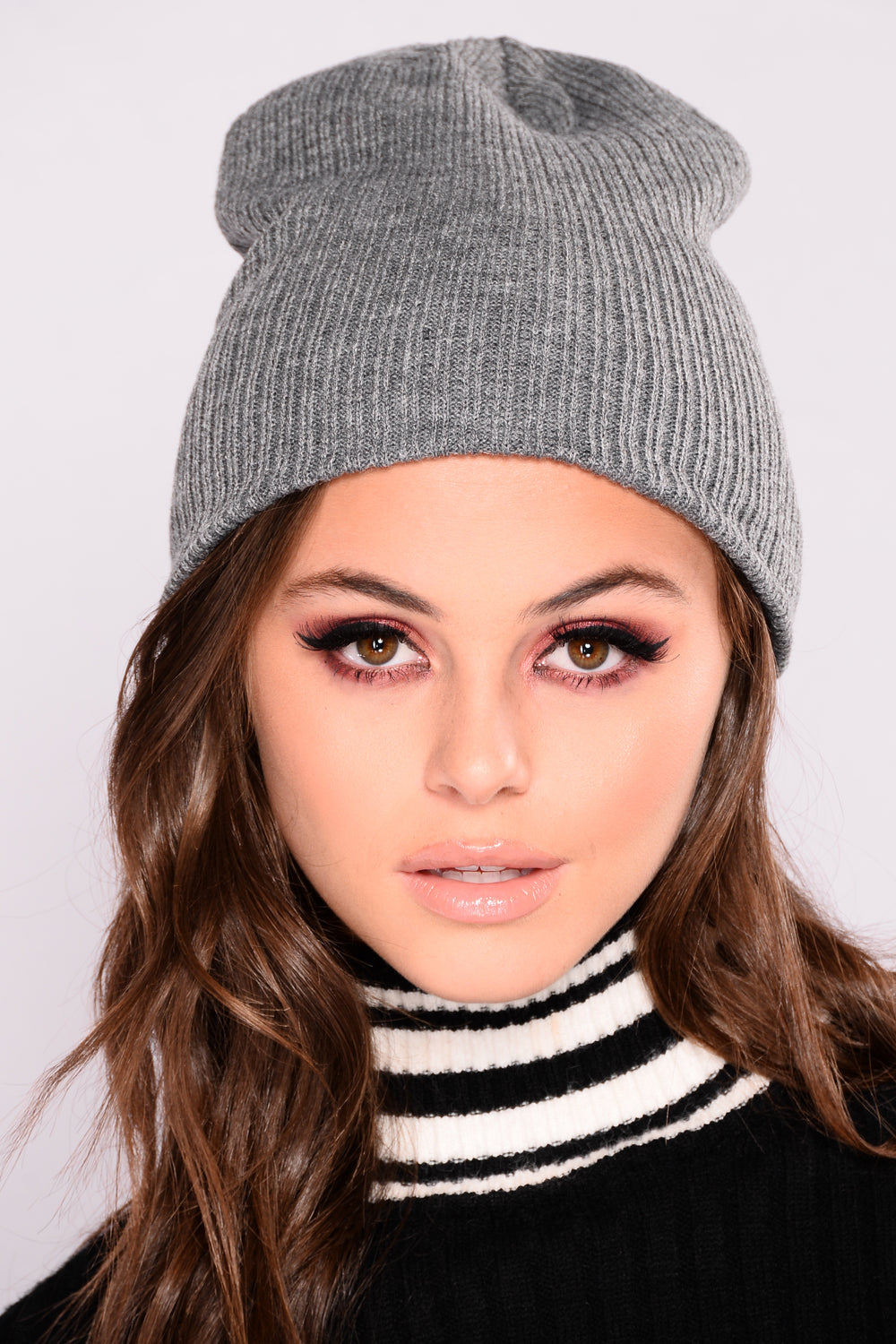 Blend Right In Beanie - Grey