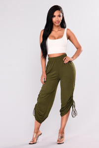 Wendy Knit Pants - Olive