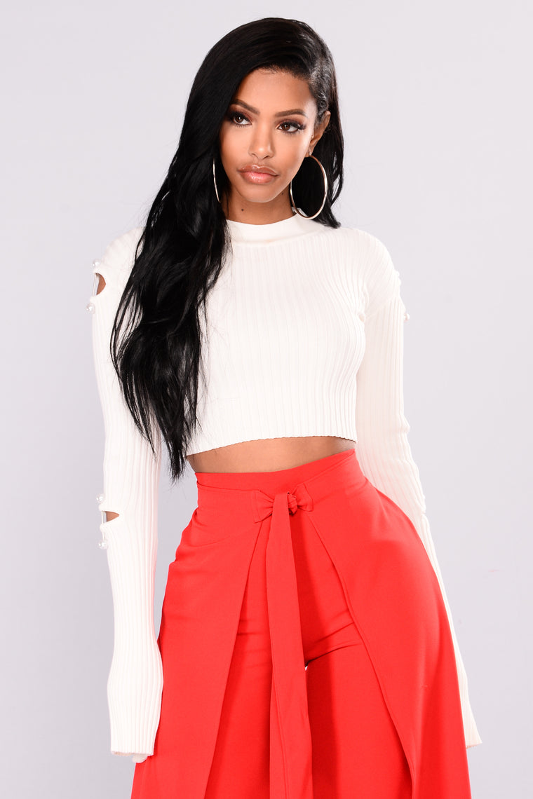 Duchess Vibes Sweater - Ivory