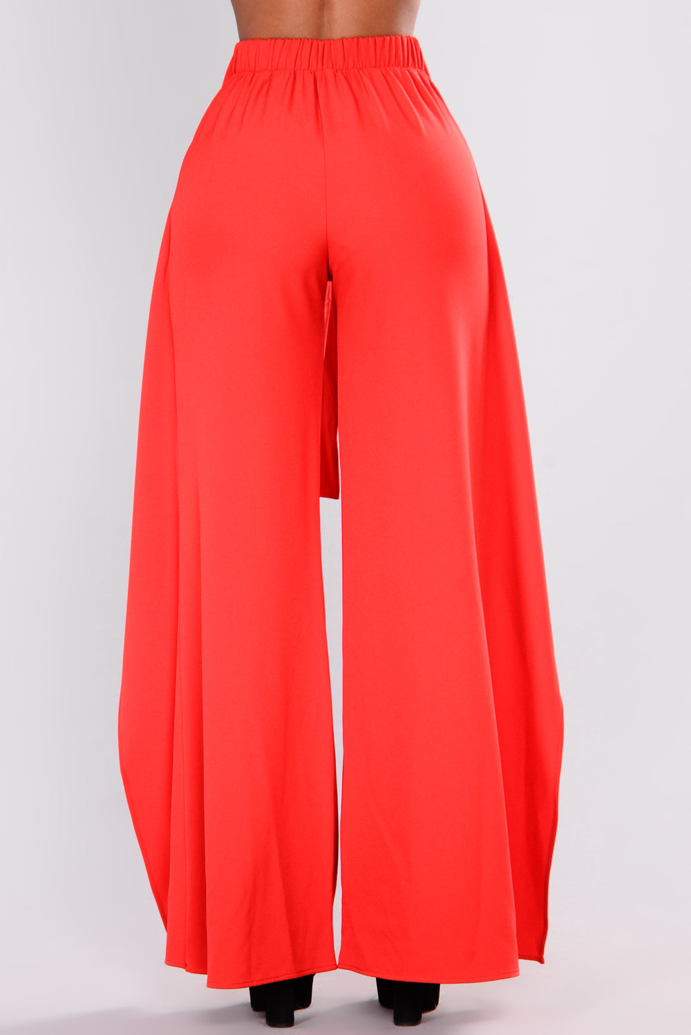 Maureen Tie Waist Pants - Red