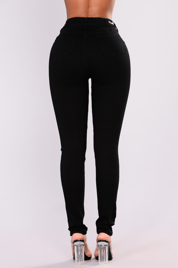 End Of The Night Skinny Jeans - Black