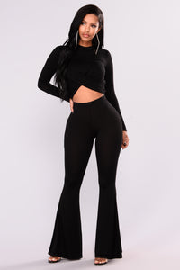 Varvara Pant Set - Black
