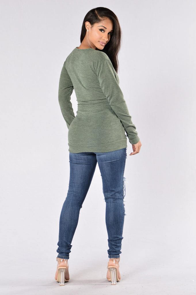 Kelso Top - Olive