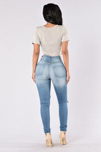 Always Winning Jeans - Medium Blue