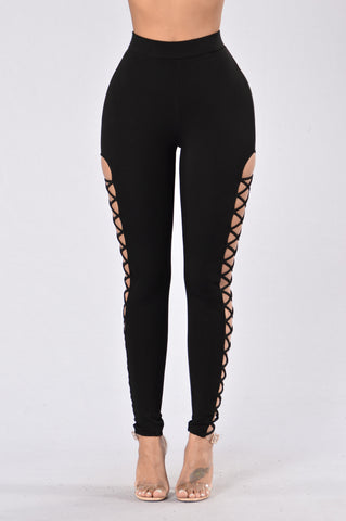Jumpin' Jumpin' Leggings - Black