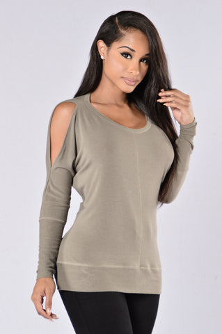 Calvin Top - Olive