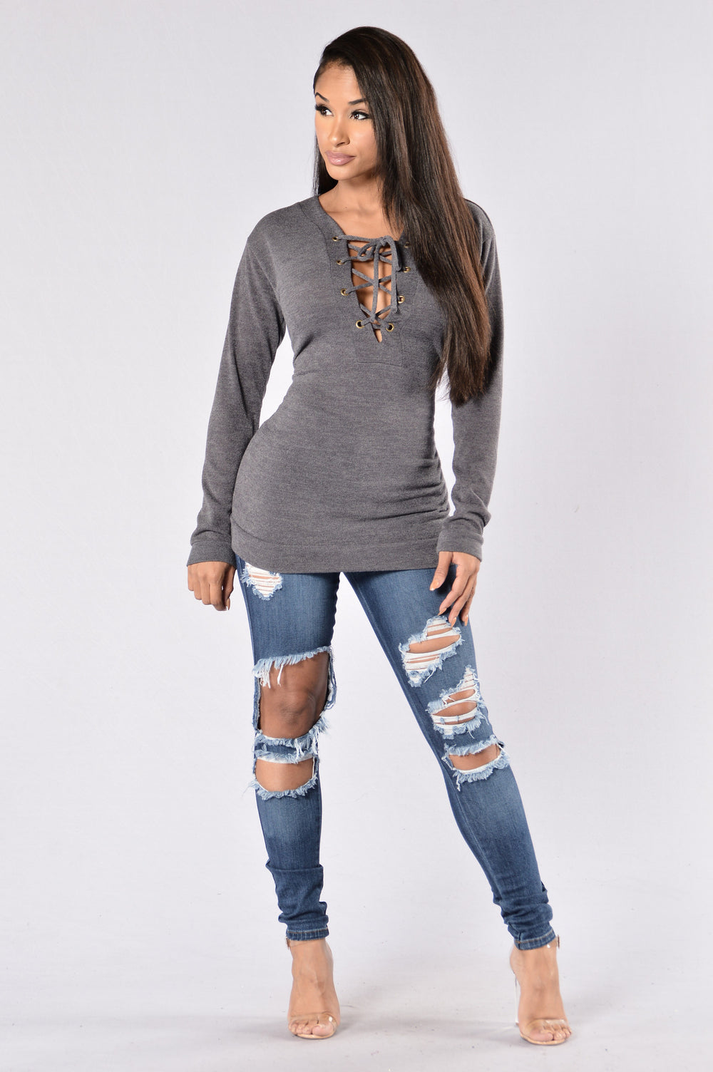 Kelso Top - Charcoal