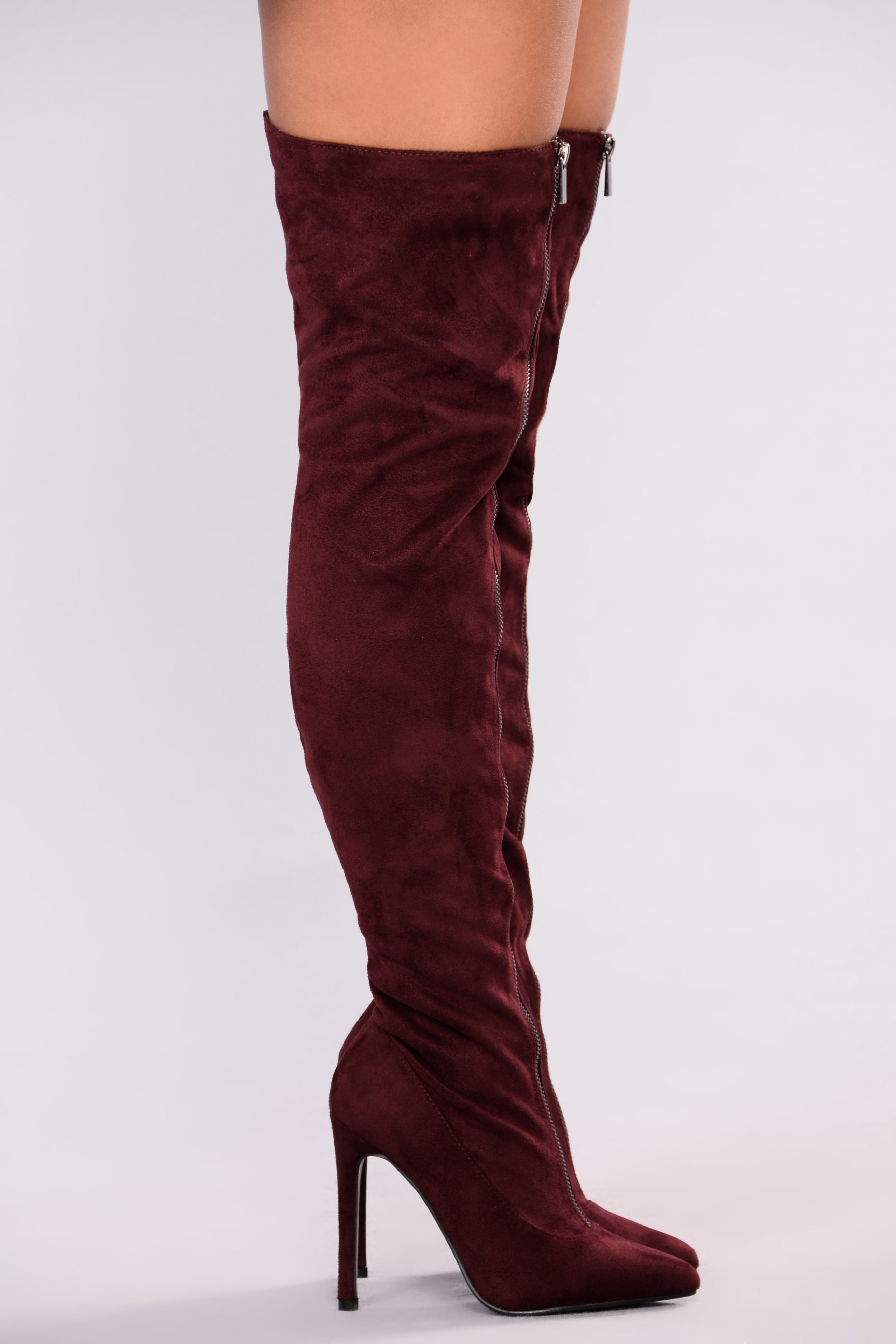 PLUM Plum Knee High Boots Navy cheap sale 2014 newest cheap sale uUN73