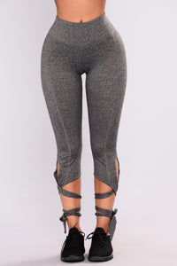 Adalynn Active Leggings - Grey