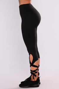 Adalynn Active Leggings - Black