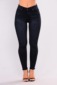 Who Knew Skinny Jeans - Dark Denim