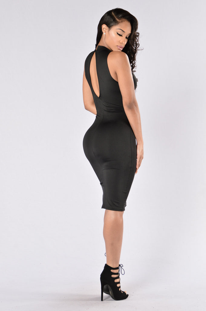 If Your Girl Only Knew Dress - Black