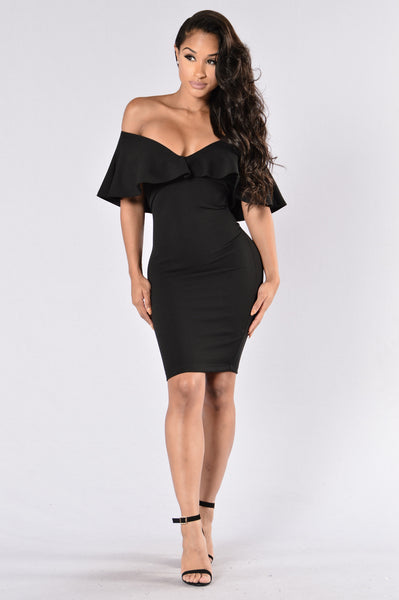 It's Fate Dress - Black