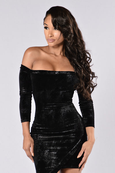 Day N Night Dress - Black/Silver